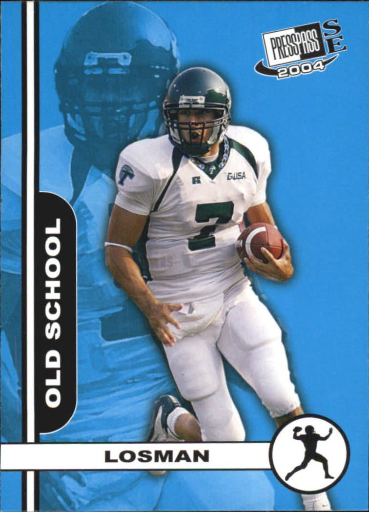 2004 Press Pass SE Old School #OS2 J.P. Losman