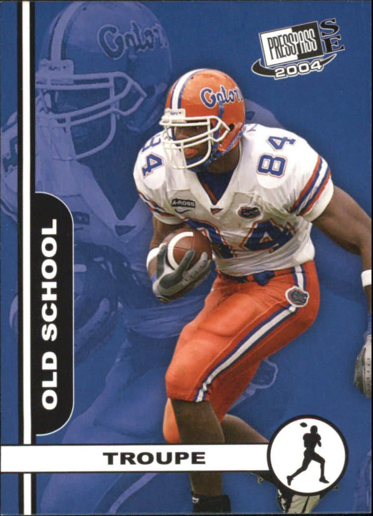 2004 Press Pass SE Old School #OS20 Ben Troupe