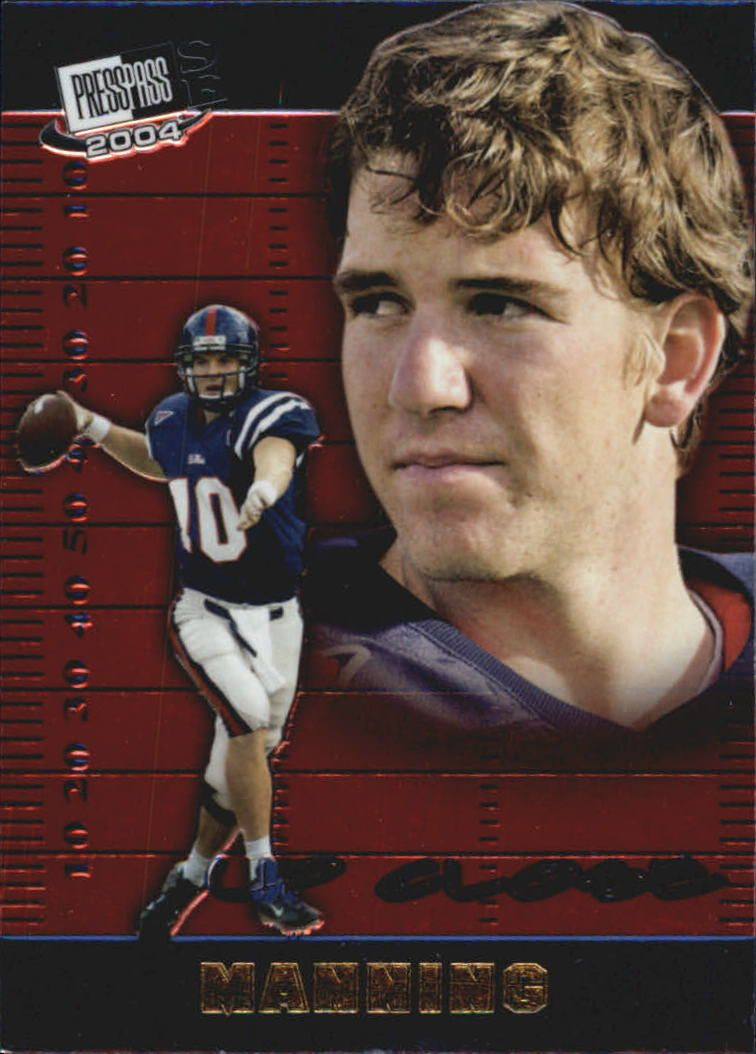 2004 Press Pass SE Up Close #UC1 Eli Manning