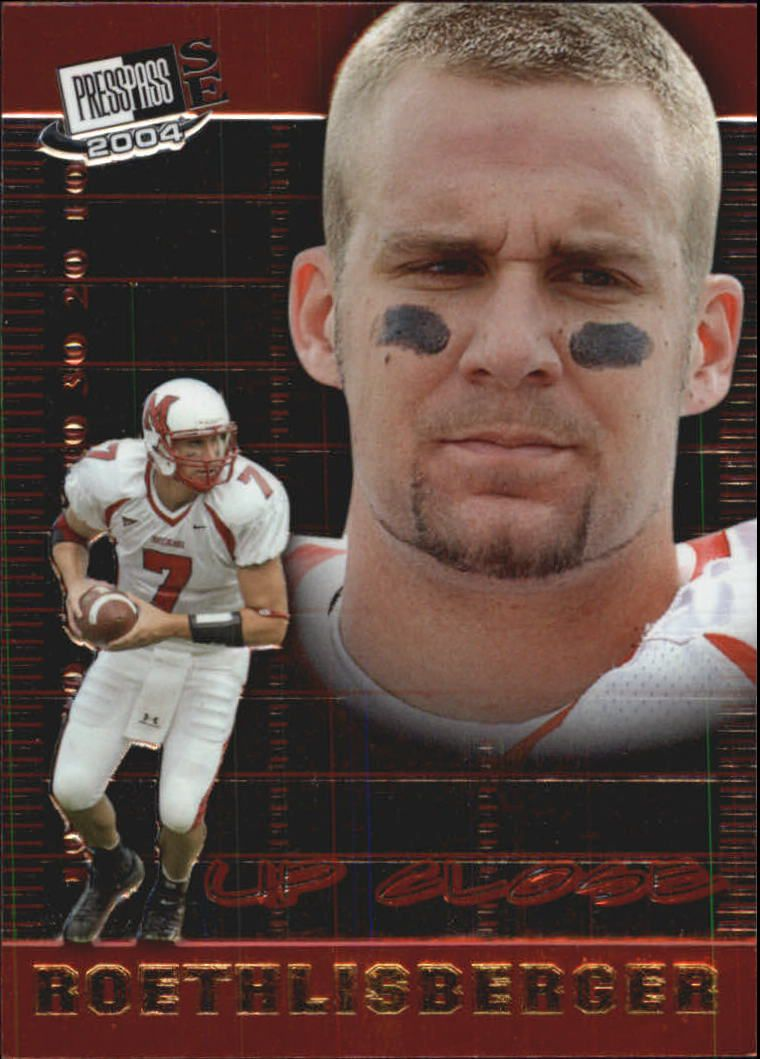 2004 Press Pass SE Up Close #UC4 Ben Roethlisberger