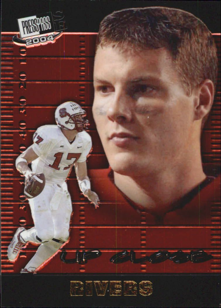 2004 Press Pass SE Up Close #UC5 Philip Rivers