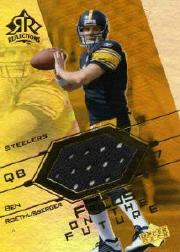 2004 Reflections Focus on the Future Jerseys Gold #FOBR Ben Roethlisberger