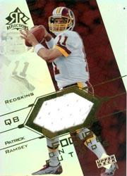 2004 Reflections Focus on the Future Jerseys Rainbow #FOPA Patrick Ramsey