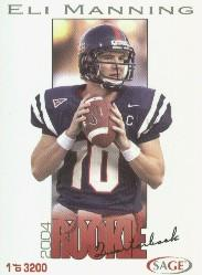 2004 SAGE #27 Eli Manning