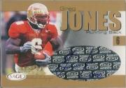 2004 SAGE Autographs Gold #A21 Greg Jones/160