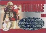 2004 SAGE Autographs Red #A3 Michael Boulware/600