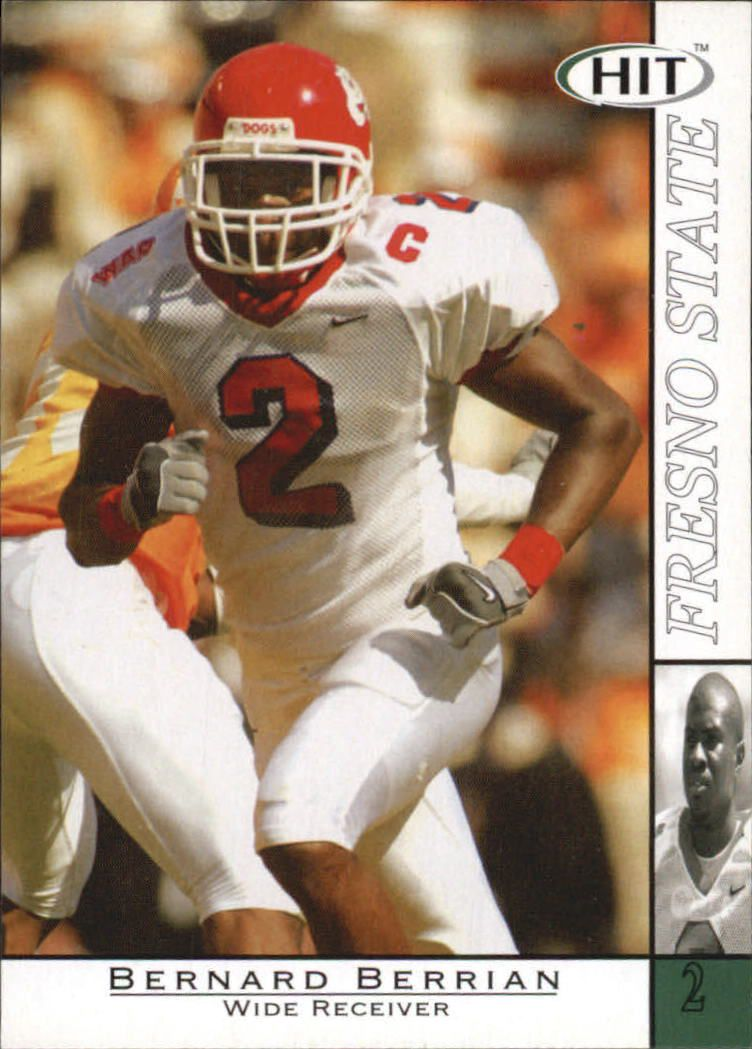 2004 SAGE HIT #2 Bernard Berrian