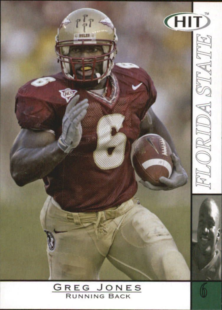 2004 SAGE HIT #6 Greg Jones