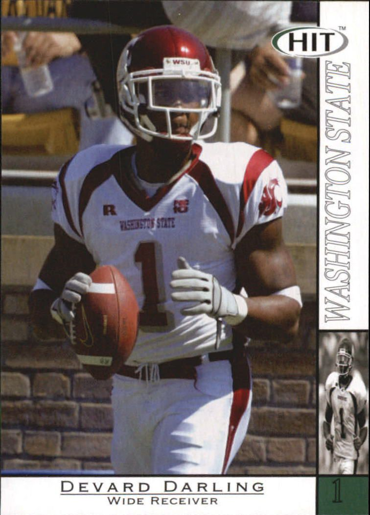 2004 SAGE HIT #31 Devard Darling