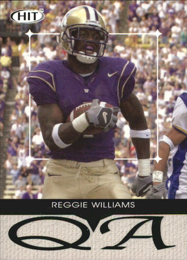 2004 SAGE HIT Q&A Emerald #Q1 Reggie Williams