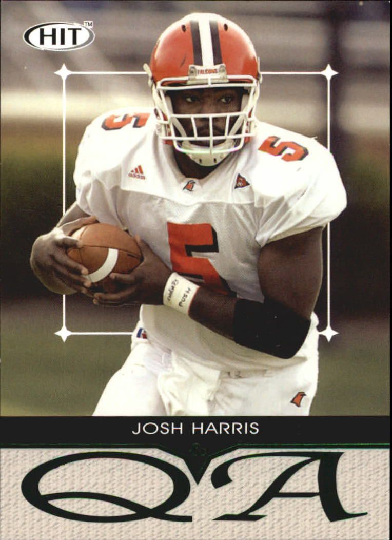 2004 SAGE HIT Q&A Emerald #Q5 Josh Harris
