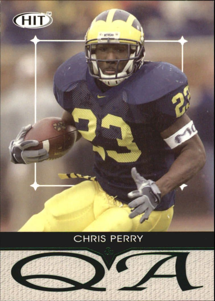2004 SAGE HIT Q&A Emerald #Q23 Chris Perry