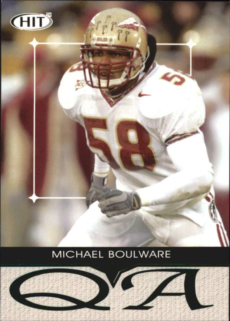 2004 SAGE HIT Q&A Emerald #Q26 Michael Boulware