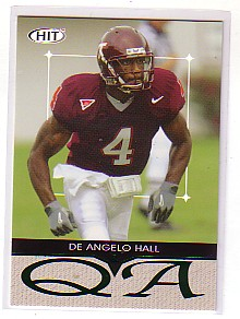 2004 SAGE HIT Q&A Emerald #Q40 DeAngelo Hall