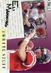 2004 SAGE HIT Write Stuff #1 Eli Manning