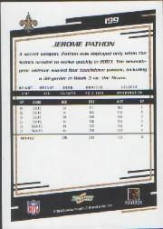 2004 Score #199 Jerome Pathon back image