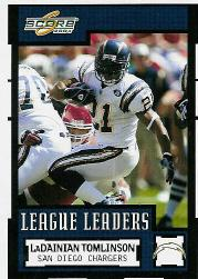 2004 Score #355 LaDainian Tomlinson LL