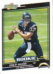 2004 Score #374 Philip Rivers RC front image
