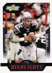 2004 Score Glossy #368 Tom Brady HL