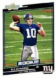 2004 Score Glossy #371 Eli Manning