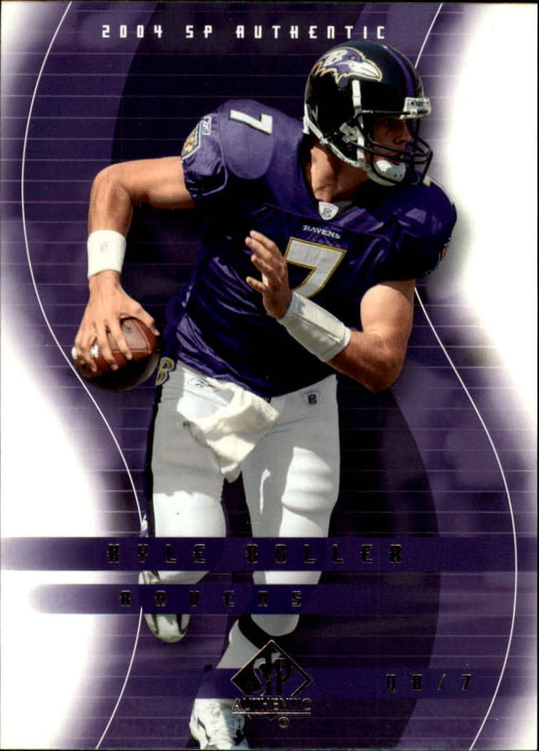 2004 SP Authentic #6 Kyle Boller