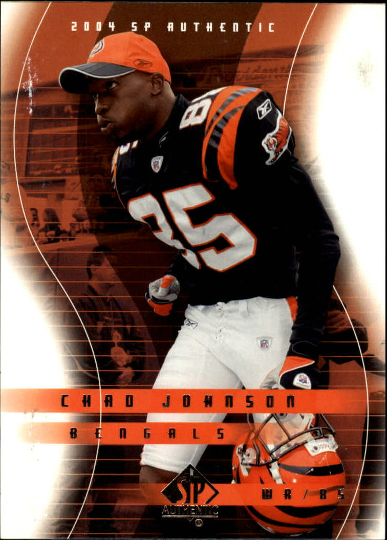 2004 SP Authentic #17 Chad Johnson