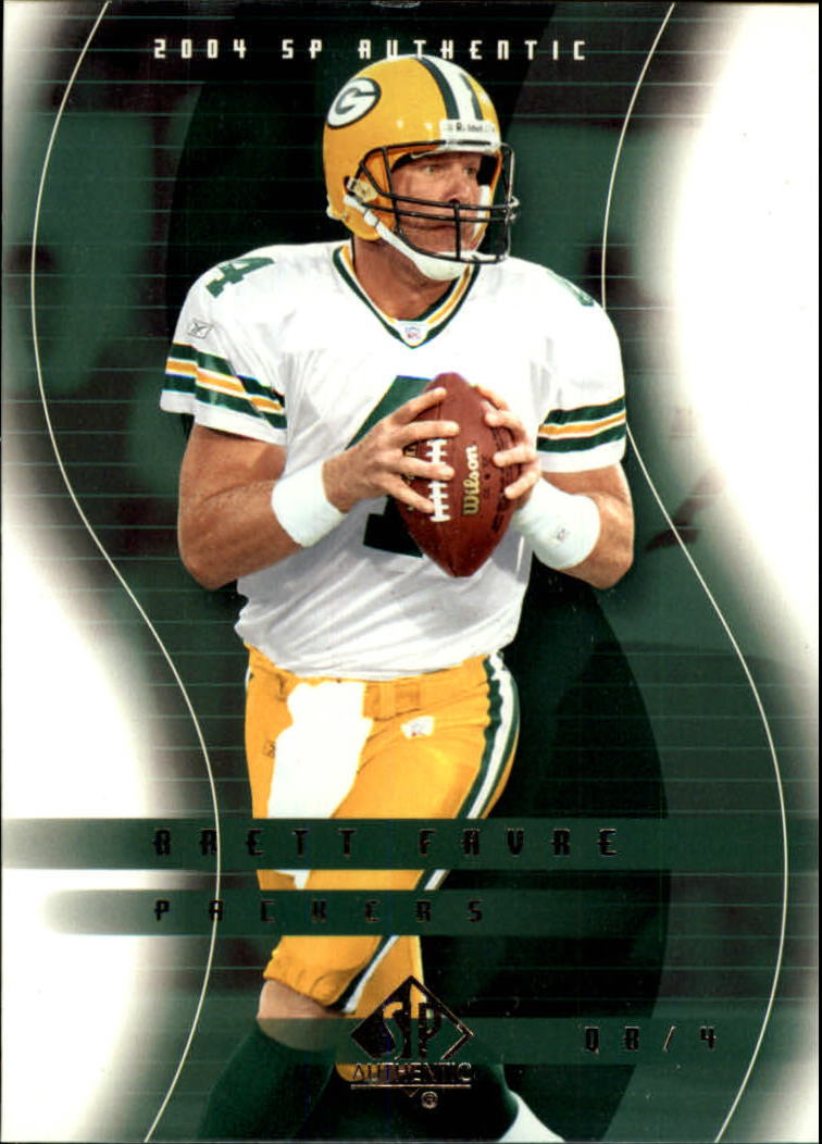 2004 SP Authentic #32 Brett Favre