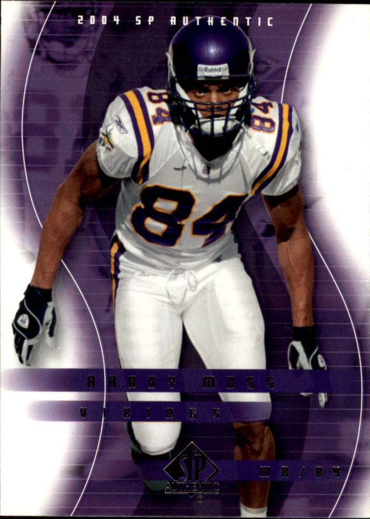 2004 SP Authentic #49 Randy Moss