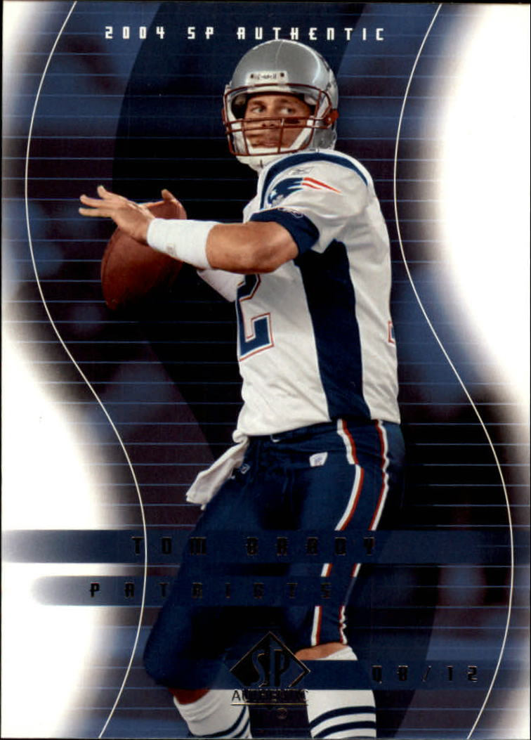 2004 SP Authentic #51 Tom Brady