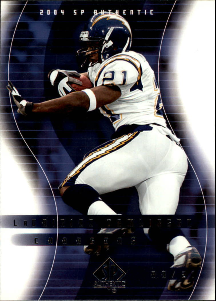 2004 SP Authentic #73 LaDainian Tomlinson
