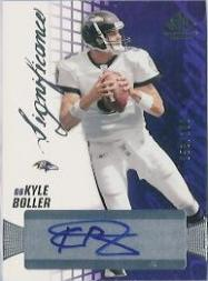 2004 SP Game Used Edition SIGnificance #KB Kyle Boller