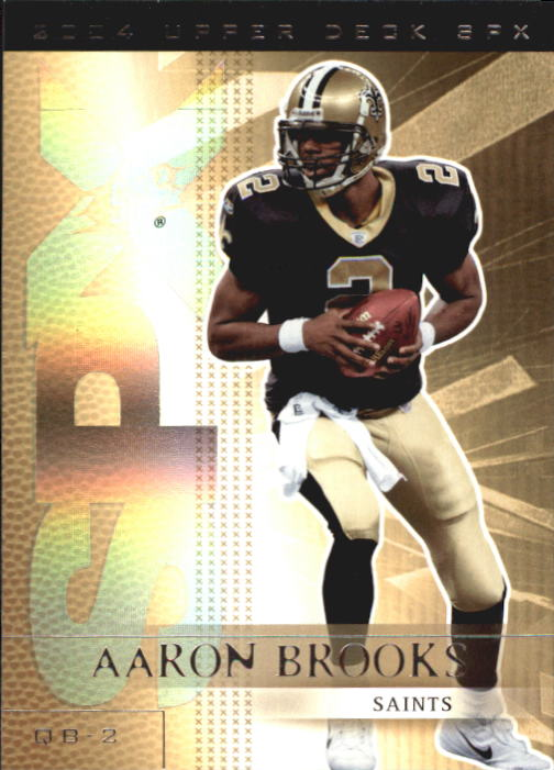 2004 SPx #62 Aaron Brooks