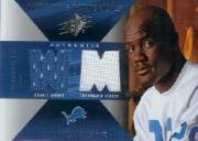 2004 SPx Rookie Winning Materials #WMRRO Roy Williams WR