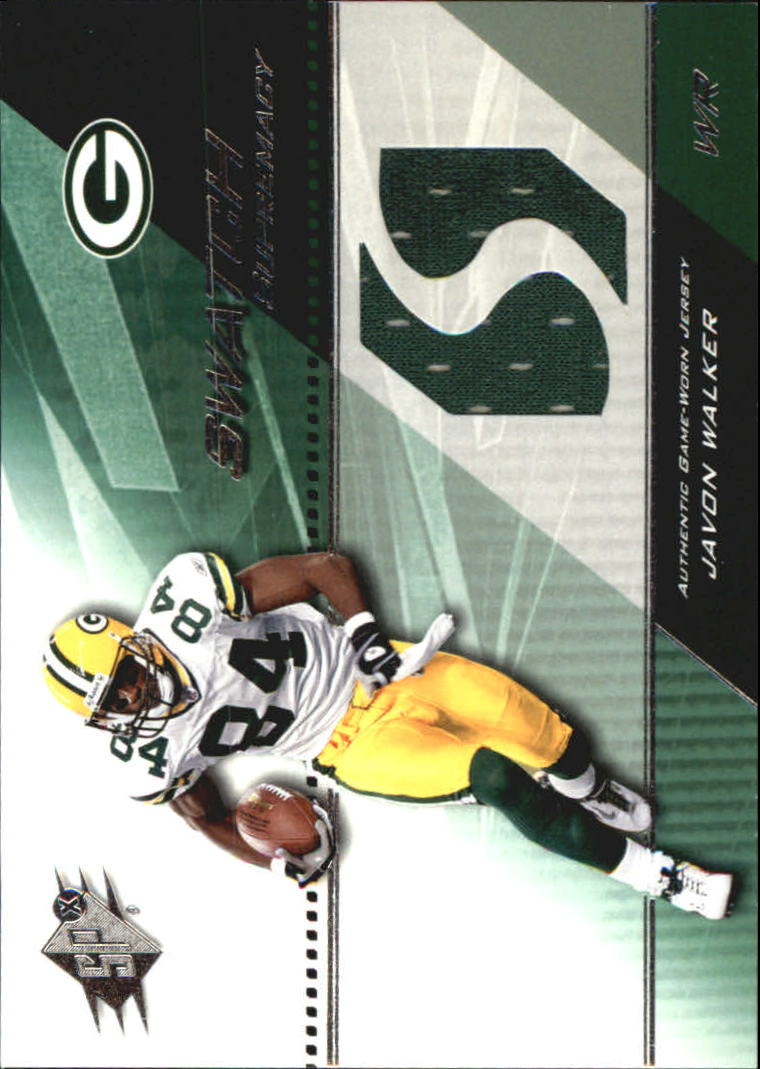 2004 SPx Swatch Supremacy #SWJW Javon Walker