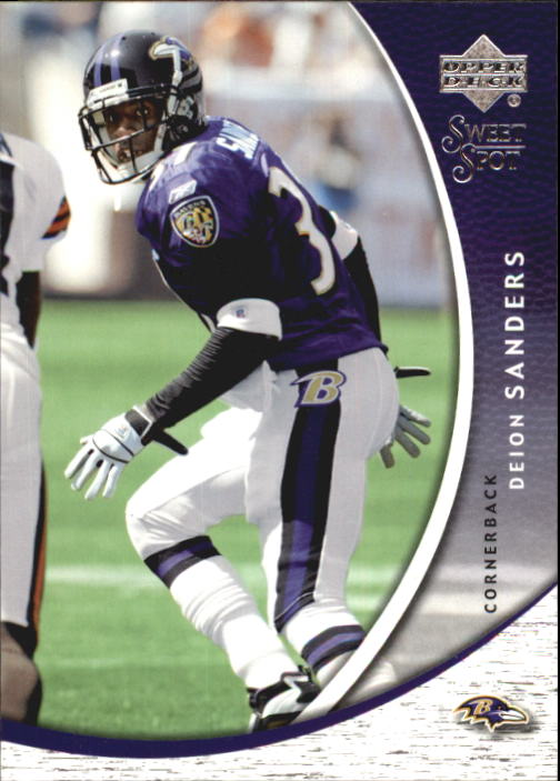2004 Sweet Spot #8 Deion Sanders