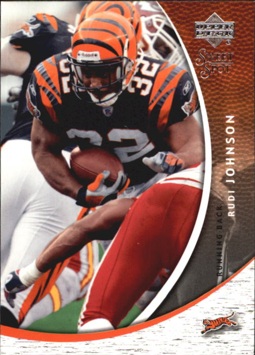 2004 Sweet Spot #21 Rudi Johnson