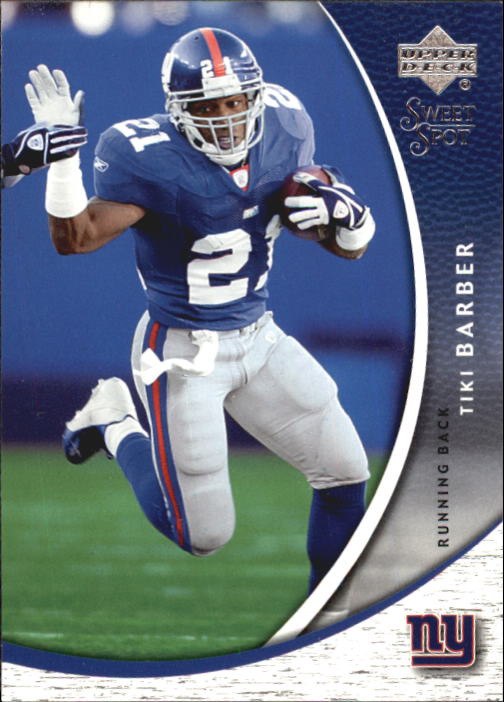 2004 Sweet Spot #64 Tiki Barber