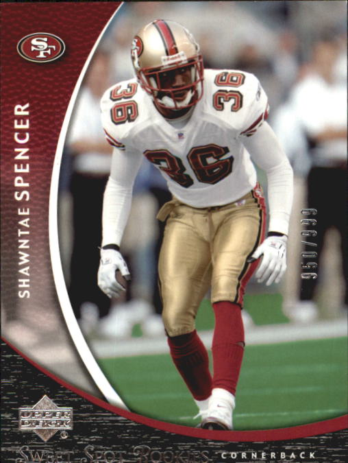 2004 Sweet Spot #180 Shawntae Spencer RC