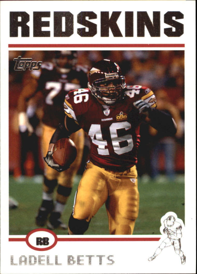 2004 Topps #52 Ladell Betts