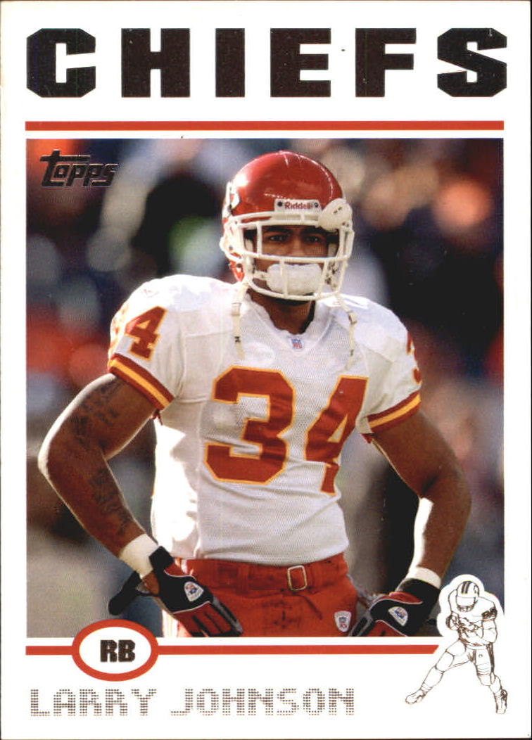 2004 Topps #174 Larry Johnson front image
