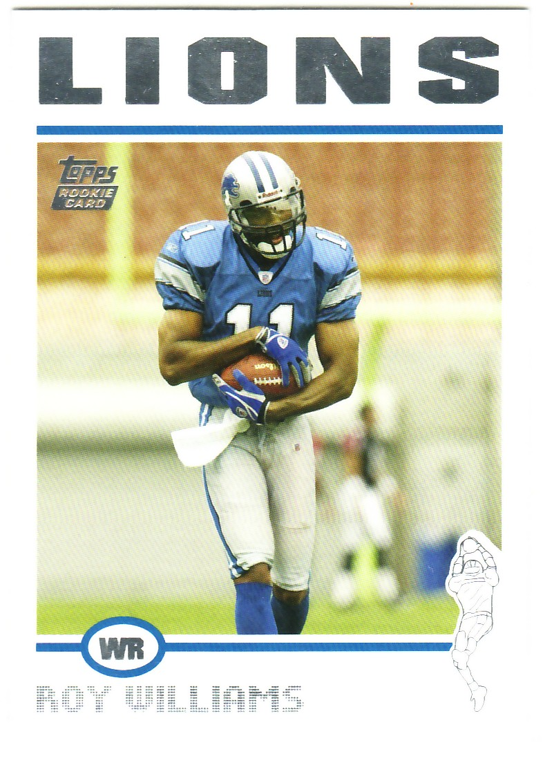2004 Topps #320 Roy Williams RC front image