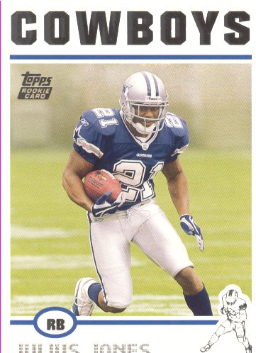 2004 Topps #351 Julius Jones RC