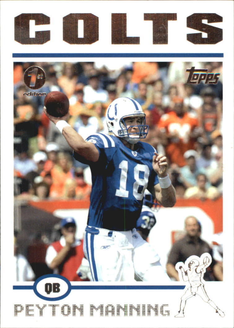 2004 Topps First Edition #1 Peyton Manning