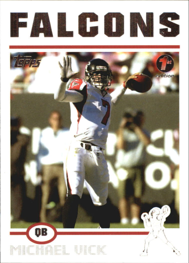 2004 Topps First Edition #25 Michael Vick front image