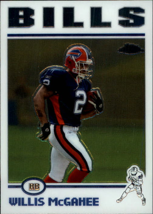 2004 Topps Chrome #21 Willis McGahee
