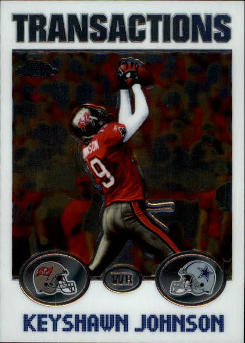 2004 Topps Chrome #95 Keyshawn Johnson