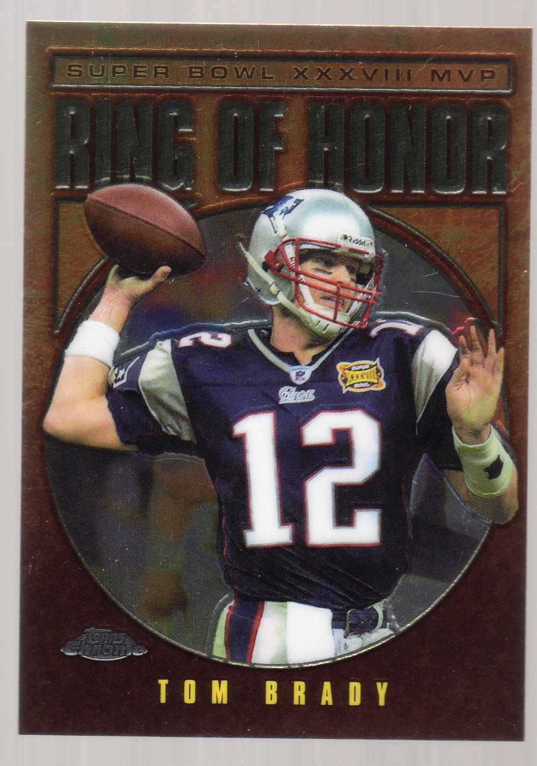 2004 Topps Chrome #RH38 Tom Brady RH