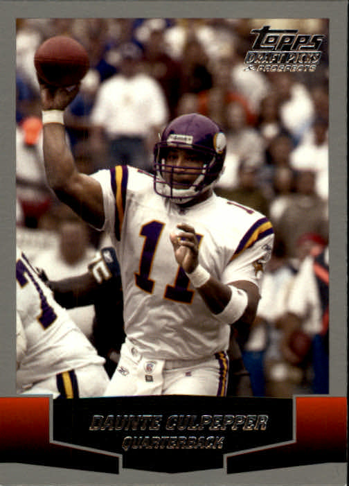 2004 Topps Draft Picks and Prospects #42 Daunte Culpepper