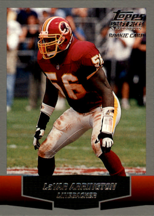2004 Topps Draft Picks and Prospects #43 LaVar Arrington