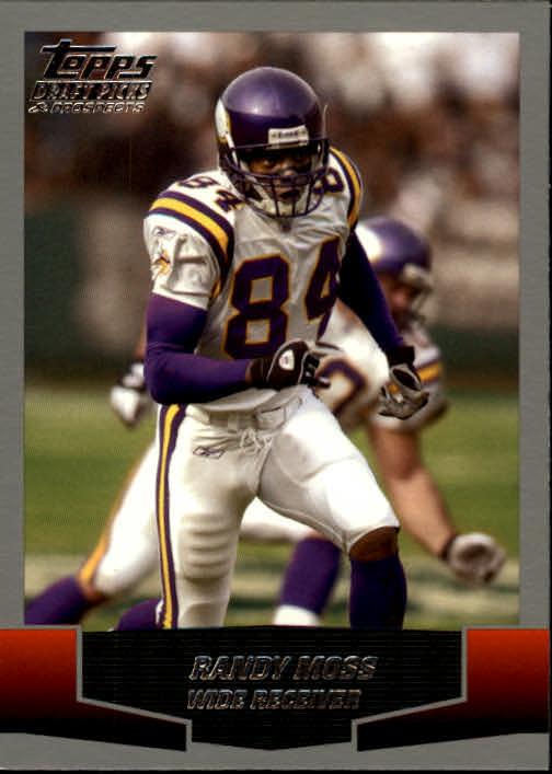 2004 Topps Draft Picks and Prospects #46 Randy Moss